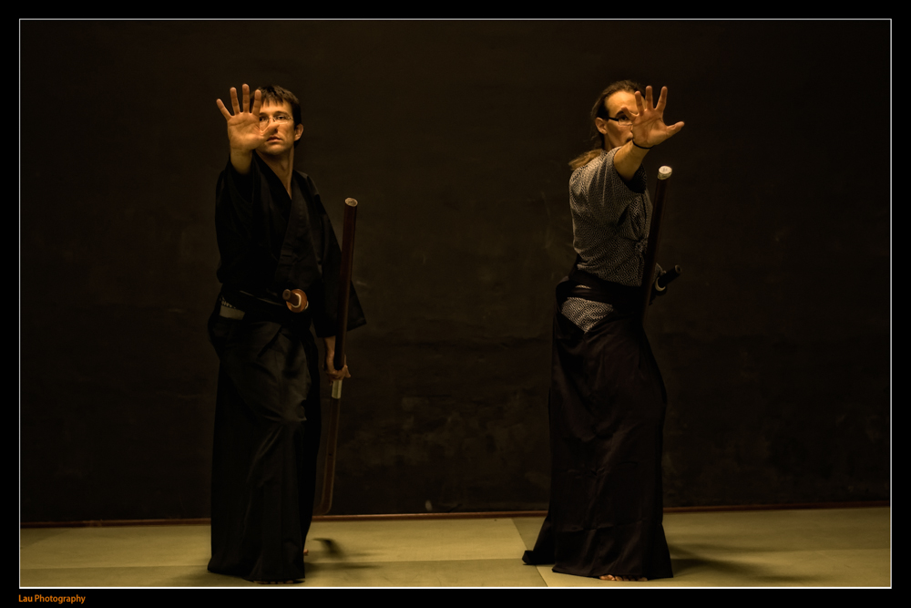 Naginata Jutsu, disciplina impartida en Dojo Zentrum.