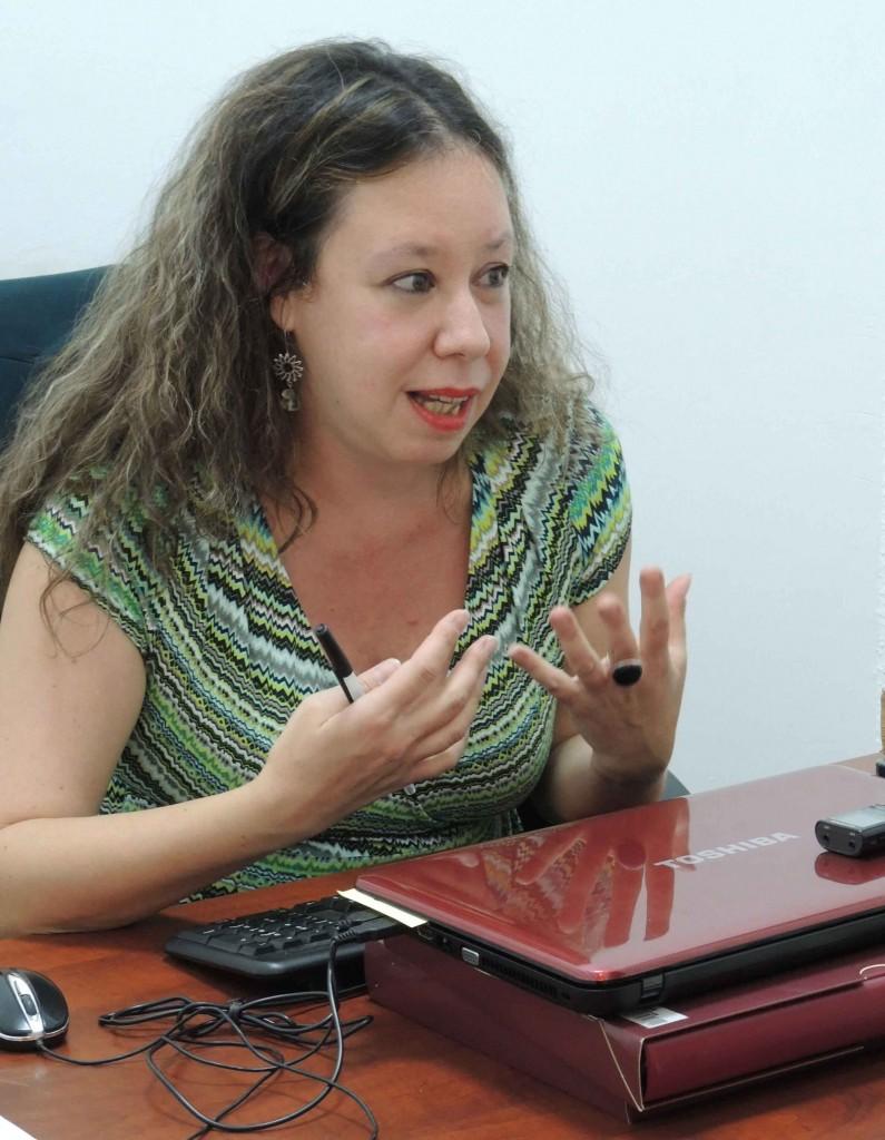 Ángeles Lorenzo, directora del Centro de Creación para Escritores.