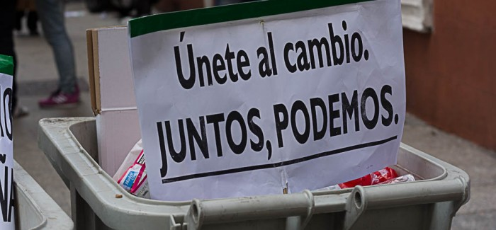 Imágenes de la manifestación multitudinaria por el cambio. Madrid, 31 de enero, 2015