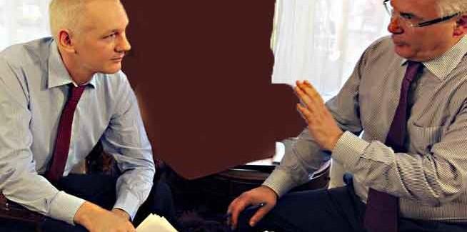 Garzón denuncia la colaboración de Google en contra de Julian Assange