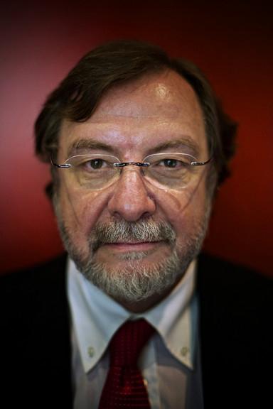 El presidente ejecutivo de Prisa, Juan Luis Cebrián, el único español que forma parte del comité directivo de Bilderberg.
