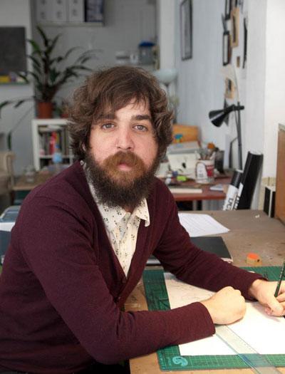 El artista plástico e ilustrador, David de las Heras.
