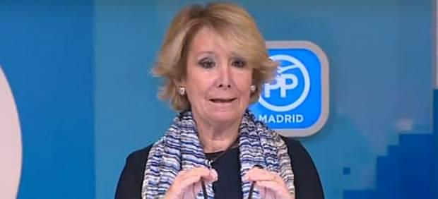 Esperanza Aguirre dimite como Presidenta del Partido Popular por los casos de corrupción