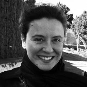 """La autora del libro """"Maleza-Viva"""", Gemma Pellicer."""