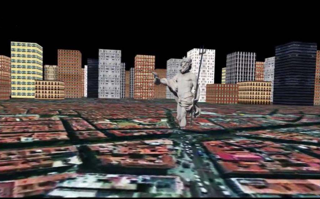 RAM_city (Mil pantallas), videoarte de Clara Aparicio Yoldi.