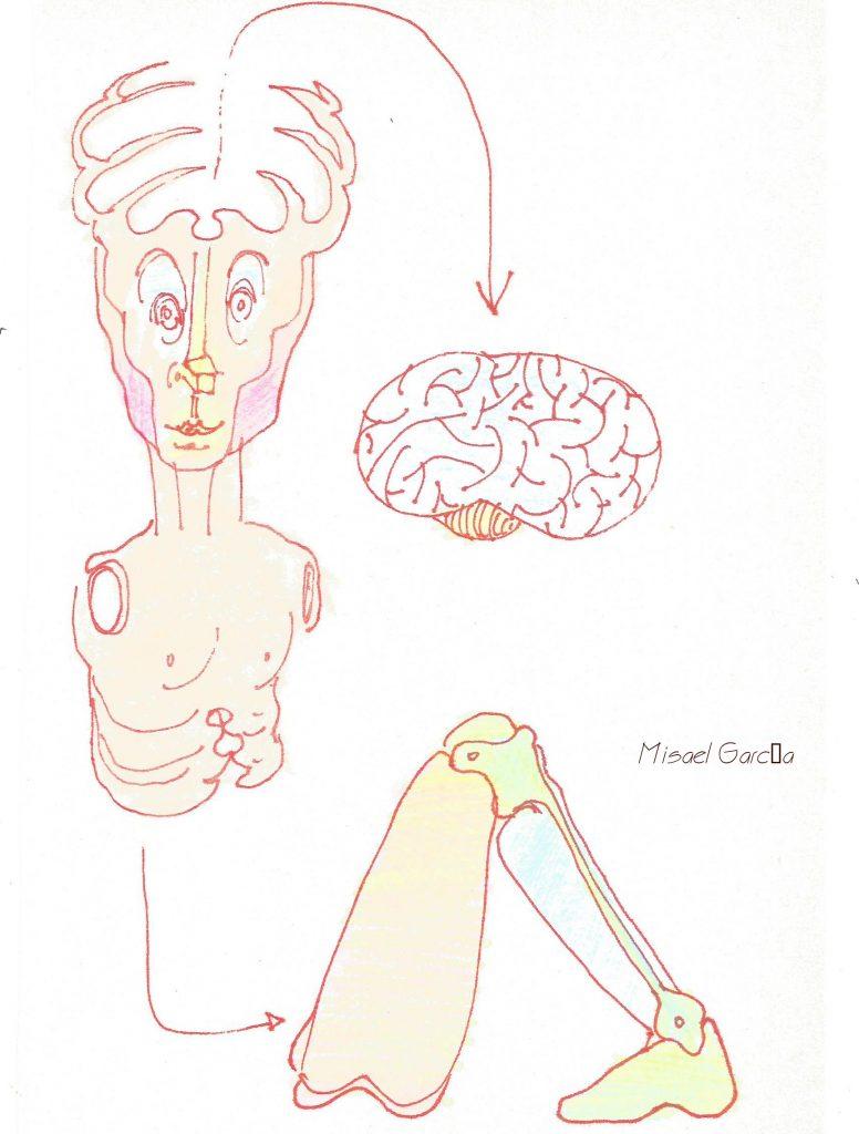 Dibujo de Misael García.