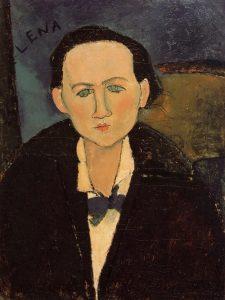 Elena Povolozky, Modigliani.