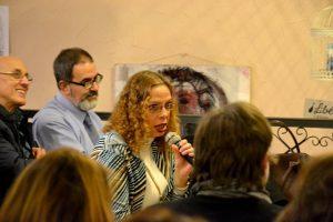 Presentación de 'Diodati. La cuna del monstruo', el pasado viernes, 11 de noviembre, 2016, en la librería Cervantes y Compañía, de Madrid.