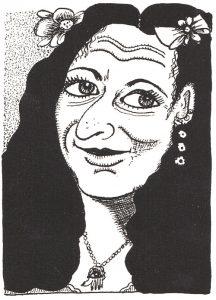 """Aline Kominsky considerada """"la abuela de los cómics de la liberación""""."""