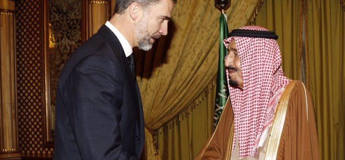Felipe VI, un rey comprometido con el terror saudí