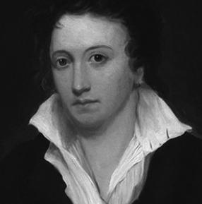 El poeta inglés Percy Bysshe Shelley (1792-1822).