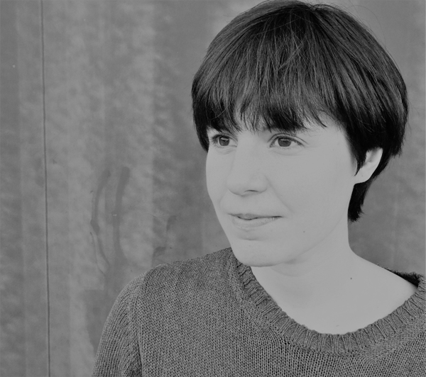 Almudena Sánchez autora de 'La acústica de los iglús'. (Fotografía de Eloy Tizón).