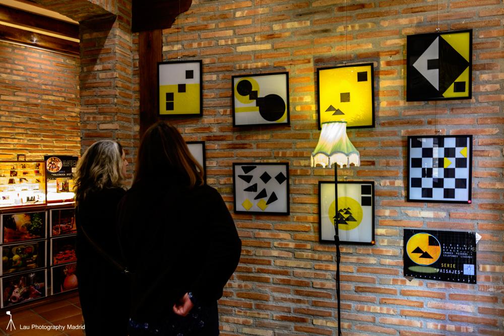 Exposición de Cristina Albert, en la Mercería. (Fotografía: Francisco Blanco).