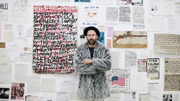 Kenneth Goldsmith poeta y profesor de la Universidad de Pensilvania, participante en Libros Mutantes Madrid Art Book Fair.