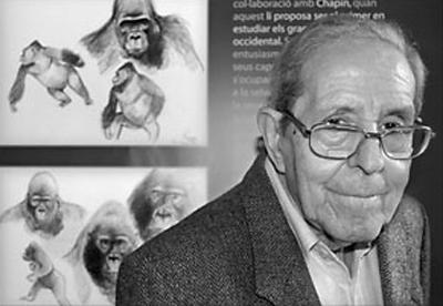 Proyecto Gran simio concede a Jordi Sabater Pi el Premio 'Defensor de la Igualdad'