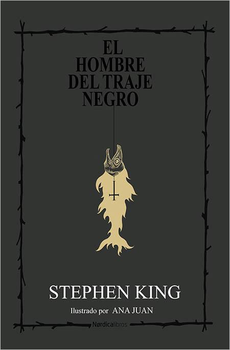 Portada del libro de Stephen King, 'El hombre del traje negro', publicado en Nórdica.