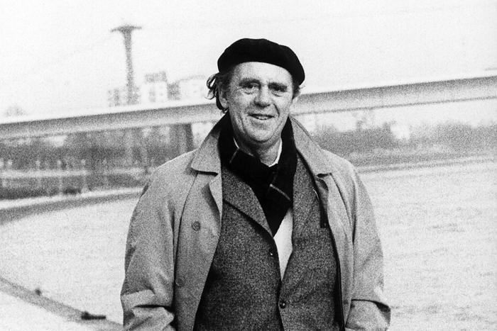 Heinrich Böll autor alemán del que se cumplió el 21 de diciembre el centenario de su nacimiento.