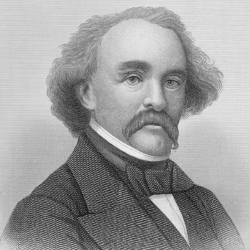 Nathaniel Hawthorne, autor de 'La letra escarlata'.