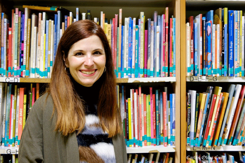 Laura Bordonaba Plou, autora de 'Polar'. (Fotografías de Carlos Oliva Cura).