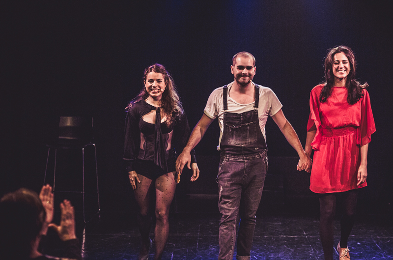 Juando Martínez, Irene Dominguez y Tanit Jaén.