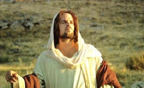 Fotograma de la película 'El discípulo' que muestra a Joel West, en el papel de Jesús.