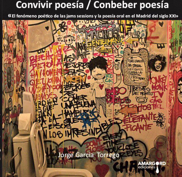 Portada de 'Convivir poesía / Conbeber poesía', de Amargord Ediciones.