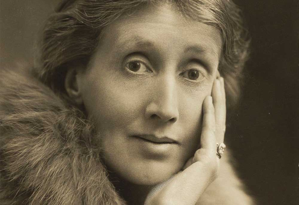 La escritora inglesa Virginia Woolf.