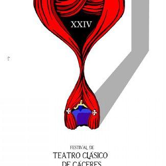 Cartel de Paco Rosco para el Festival de Teatro Clásico de Cáceres.