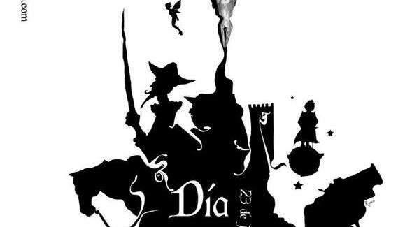 Cartel de Paco Rosco para el Día del Libro de Cáceres.