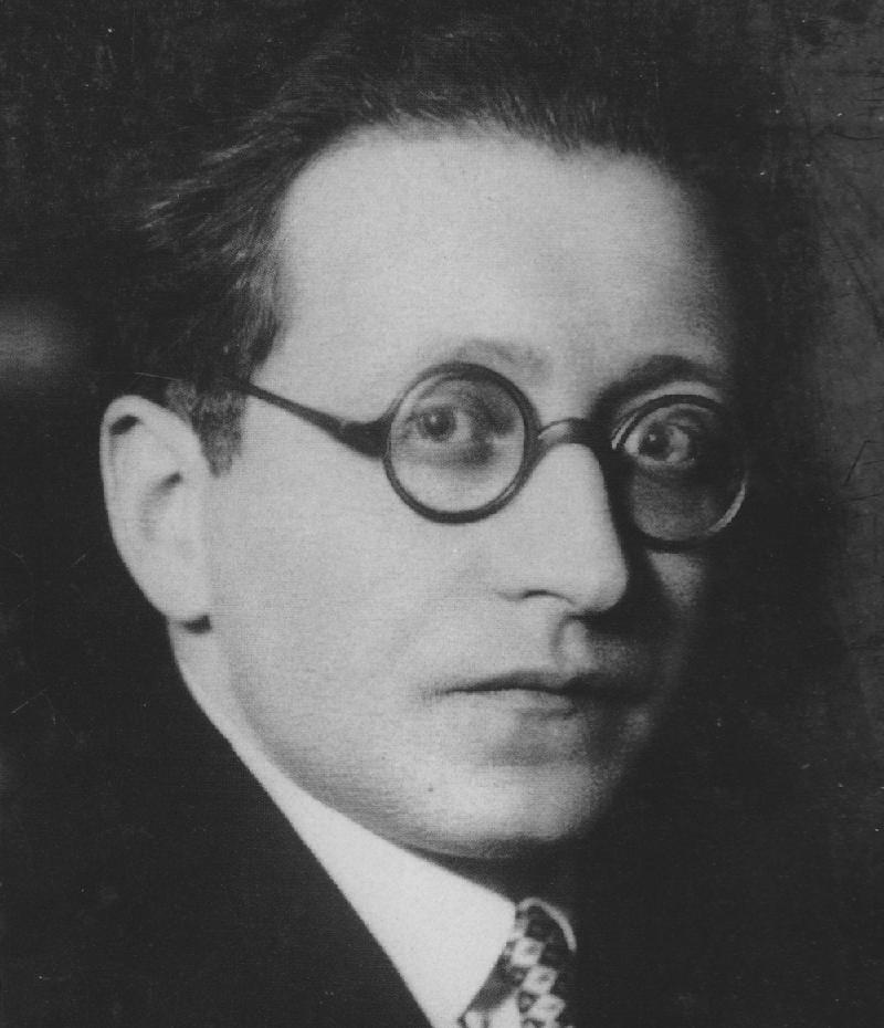 El escritor Hermann Ungar (Boskovice, Moravia, 1893-Praga, 1929).