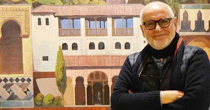 El escritor granadino Francisco López Barrios, autor de la novela 'Amado pulpo'.