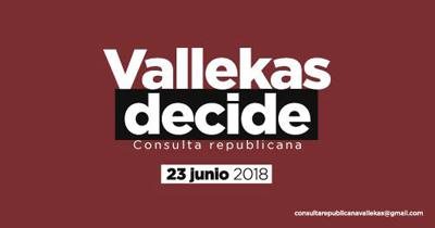 Vallekas Decide organiza una consulta para elegir entre monarquía o república