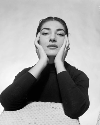 Cecil Beaton, María Callas (1956).