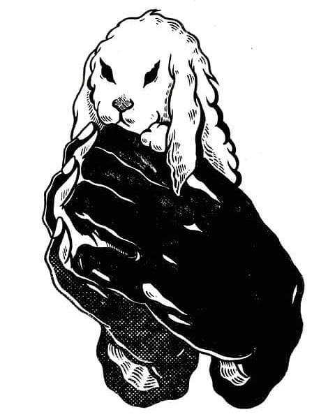 """Ilustración de Libertad Ballester para el relato """"Resurrecciones"""" de Emma Prieto. Ed. Adeshoras 2018"""