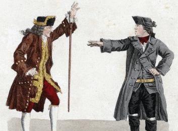 Luz y justicia en la obra 'Voltaire en Ferney', de Eugène Noel