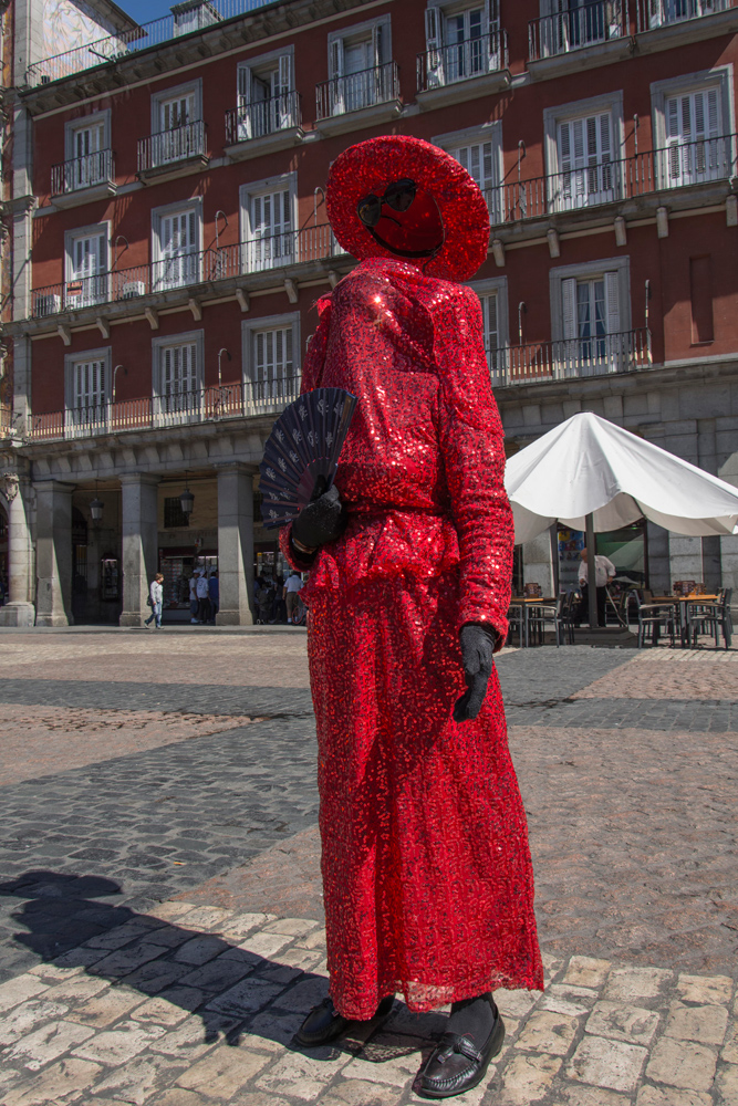 Ligia cambia su disfraz, según la época del año.