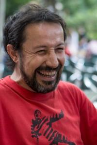 Víctor García Antón autor de 'Volanderas'. (Fotografía: Francisco Blanco)