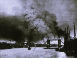 Londres bombardeado