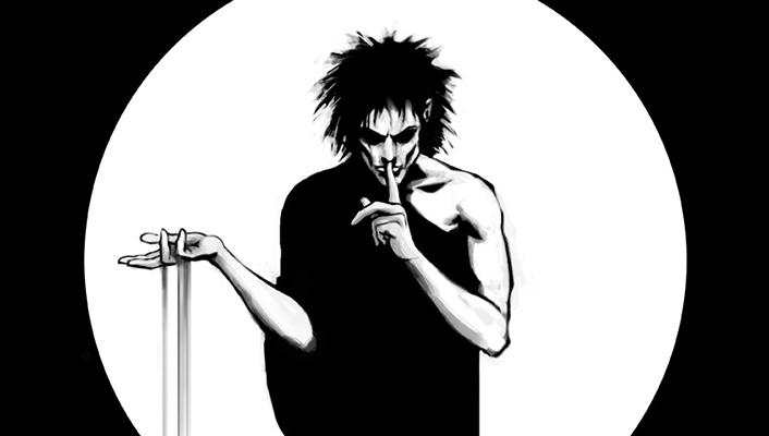 El personaje creado por Neil Gaiman, Sandman.