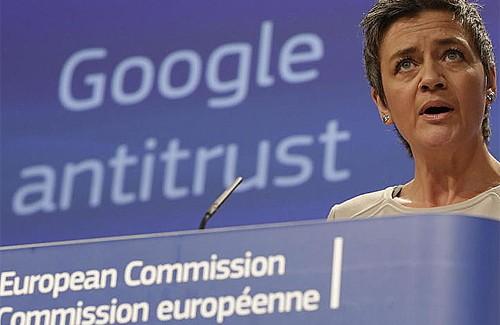 La Comisión Europea acusa a Google de abuso de posición dominante en Internet