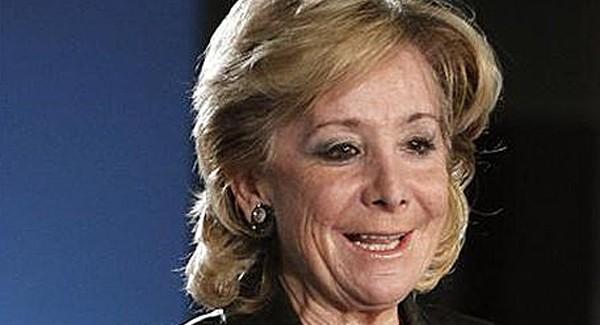 Esperanza Aguirre responsable de la privatización y deterioro de la Sanidad Pública madrileña