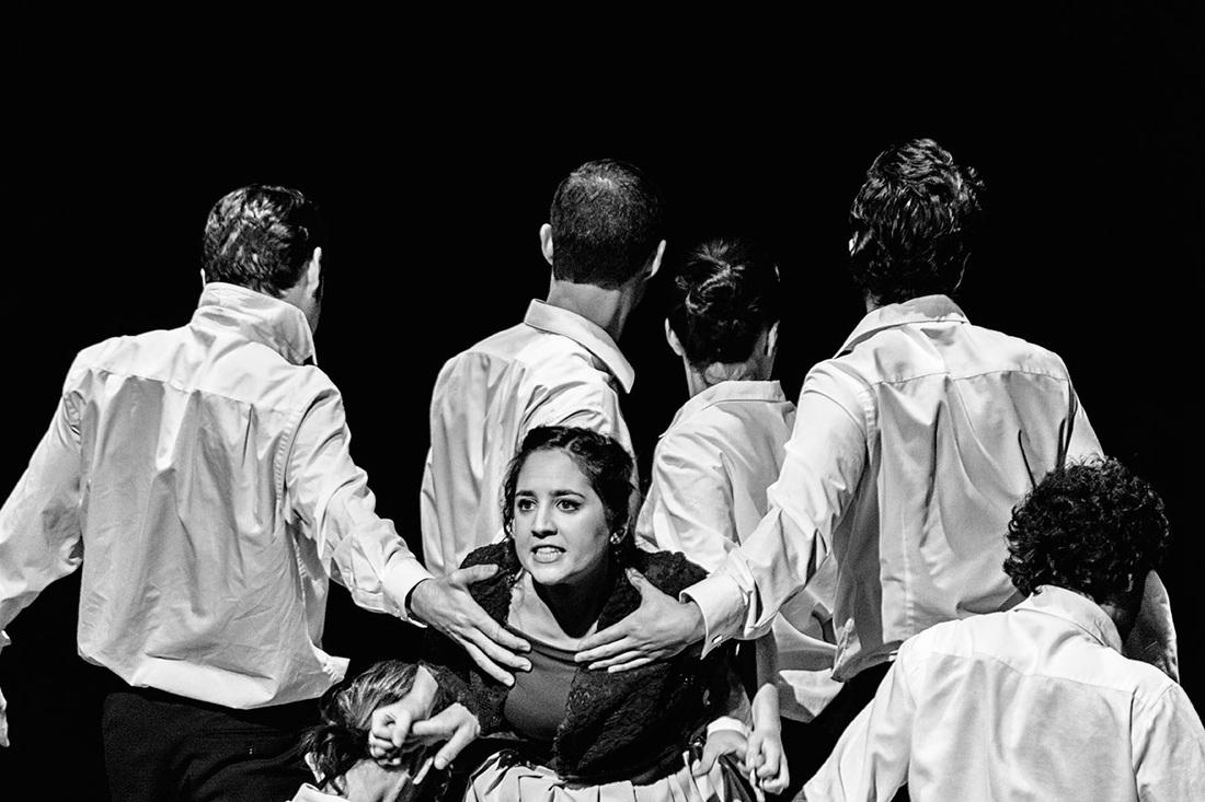 """""""La boba para los otros..."""" protagonizada por Ainhoa Blanco Dúcar (Fotografía de Francisco Blanco,  LAU PHOTOGRAPHY MADRID)."""