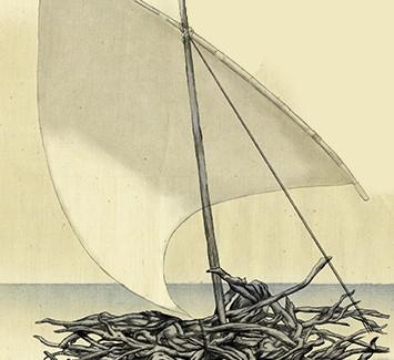 Un viaje a la libertad: edición ilustrada del poema, Ítaca, de Constantino Cavafis