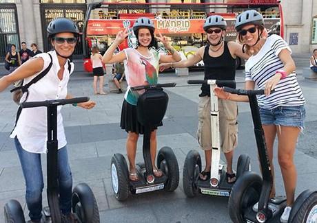 Segway en Madrid: la forma más divertida, cómoda y ecológica de recorrer la ciudad