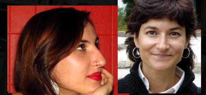 Lectura de poemas por parte de Ada Salas y Sara R. Gallardo, en la Biblioteca Eugenio Trías