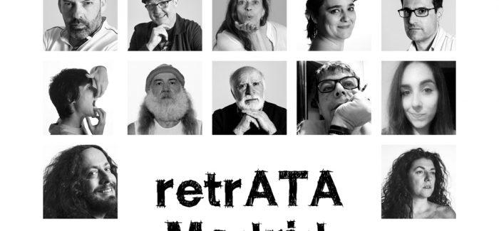 'RetrATA Madrid': oníricas fotografías que funden espacios de la ciudad con retratos