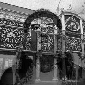 Fotografía de Perico Kabita. Fachada de la Filmoteca Española.