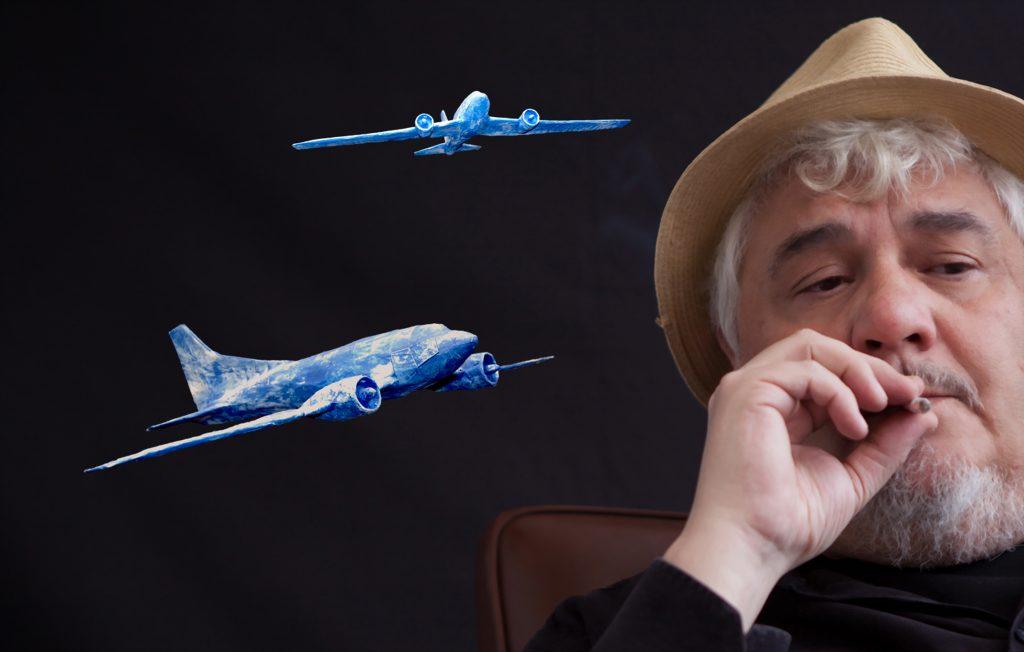 Julio Jurado, autor de 'El bombardero azul'. Fotografía de Eduardo Cano.