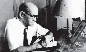 Leo Perutz (Praga, 1882-Bad Ischl, 1957), autor de 'De noche, bajo el puente de piedra'.