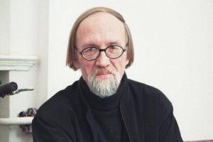 El poeta letón, Leons Briedis.